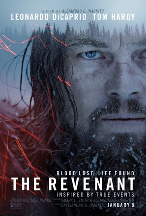 The Revenant - Theatrical movie poster (thumbnail)