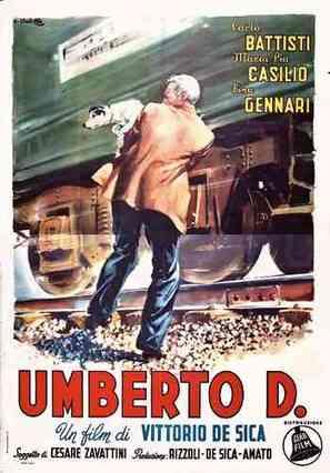 Umberto D. - Italian Movie Poster (thumbnail)