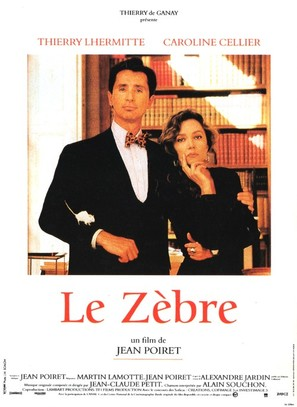 Le zèbre - French Movie Poster (thumbnail)