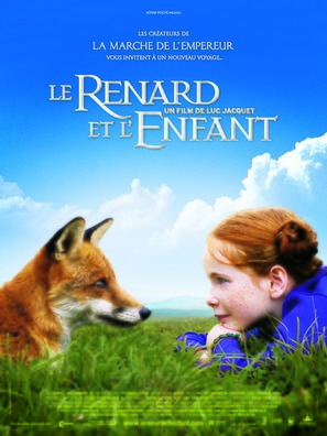 Le renard et l'enfant - French Movie Poster (thumbnail)