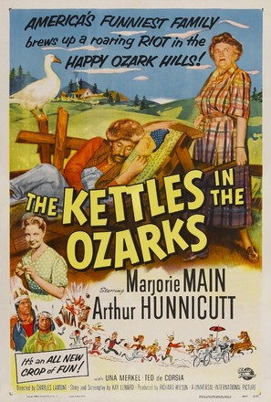 The Kettles in the Ozarks - Movie Poster (thumbnail)