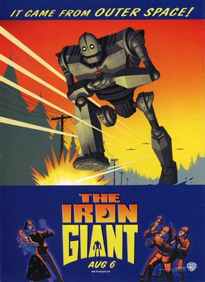 The Iron Giant - Advance movie poster (thumbnail)