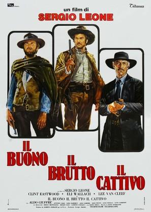 Il buono, il brutto, il cattivo - Italian Movie Poster (thumbnail)