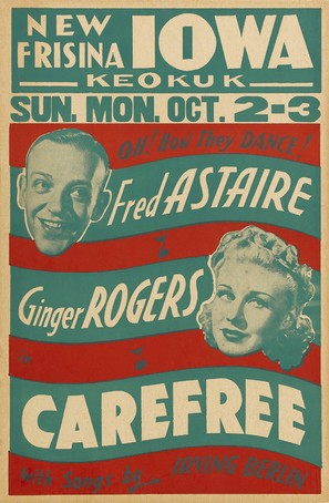 Carefree - Movie Poster (thumbnail)