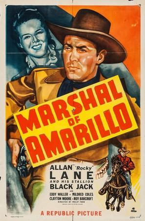 Marshal of Amarillo - Movie Poster (thumbnail)