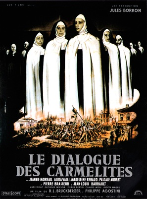 Le dialogue des Carmélites - French Movie Poster (thumbnail)