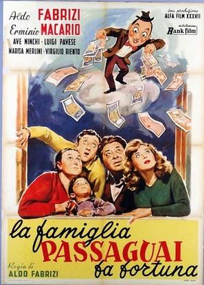 La famiglia Passaguai fa fortuna - Italian Movie Poster (thumbnail)