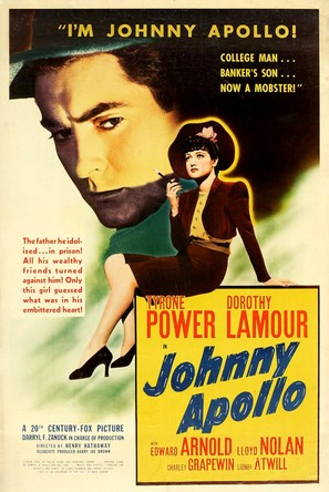 Johnny Apollo - Movie Poster (thumbnail)