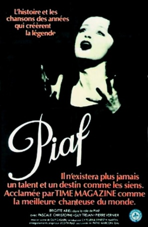 Piaf - French Movie Poster (thumbnail)