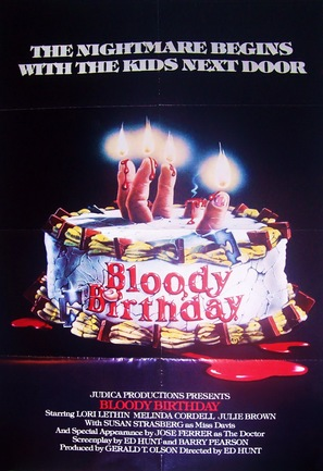 Bloody Birthday - Movie Poster (thumbnail)