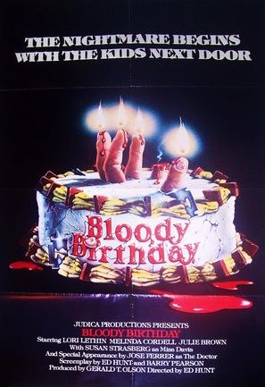 Bloody Birthday - Movie Poster (thumbnail)