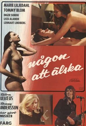Någon att älska - Swedish Movie Poster (thumbnail)