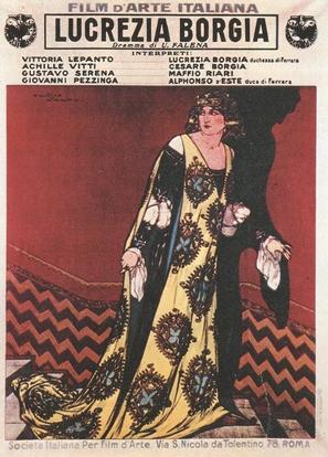 Lucrezia Borgia - Italian Movie Poster (thumbnail)