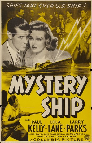 Mystery Ship - Movie Poster (thumbnail)