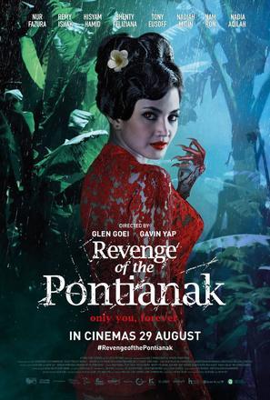 Revenge of the Pontianak - Singaporean Movie Poster (thumbnail)