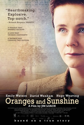 Oranges and Sunshine - British Movie Poster (thumbnail)