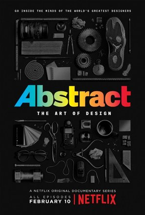 """""""Abstract: The Art of Design"""" - Movie Poster (thumbnail)"""