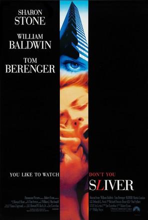 Sliver - Movie Poster (thumbnail)