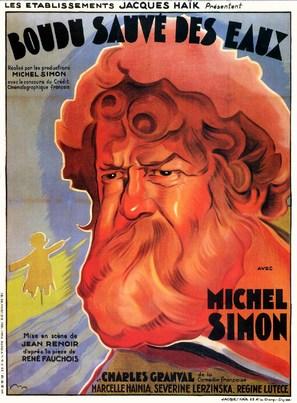 Boudu sauvé des eaux - French Movie Poster (thumbnail)