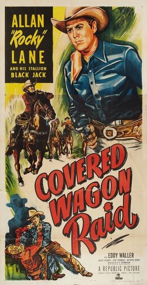 Covered Wagon Raid - Movie Poster (thumbnail)