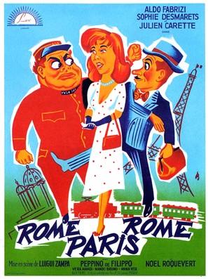 Signori, in carrozza! - French Movie Poster (thumbnail)
