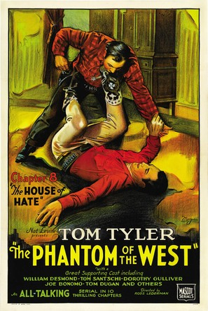 The Phantom of the West - Movie Poster (thumbnail)
