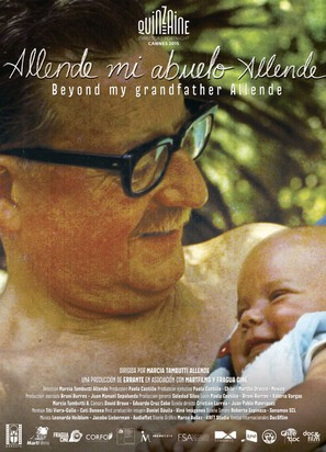 Allende, mi abuelo Allende - Chilean Movie Poster (thumbnail)