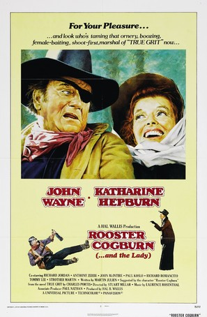 Rooster Cogburn - Movie Poster (thumbnail)