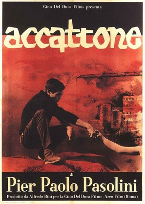 Accattone - Italian Movie Poster (thumbnail)