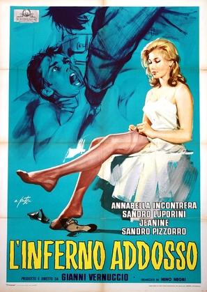 L'inferno addosso - Italian Movie Poster (thumbnail)