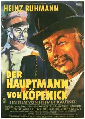 Hauptmann von Köpenick, Der - German Movie Poster (thumbnail)
