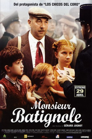 Monsieur Batignole - Spanish Movie Poster (thumbnail)