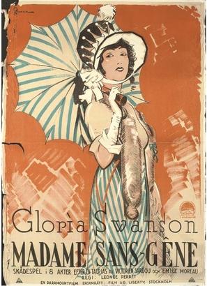 Madame Sans-Gêne - Swedish Movie Poster (thumbnail)