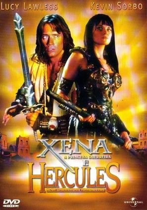 Hercules & Xena: Wizards of the Screen - Brazilian Movie Cover (thumbnail)