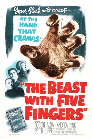 The Beast with Five Fingers - Movie Poster (thumbnail)