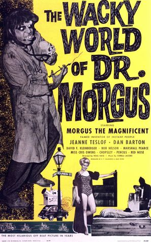 The Wacky World of Dr. Morgus - Movie Poster (thumbnail)