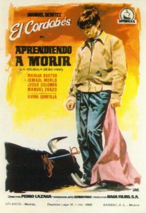 Aprendiendo a morir - Spanish Movie Poster (thumbnail)