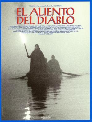 El aliento del diablo - Spanish Movie Poster (thumbnail)