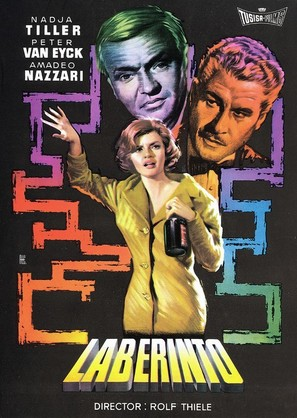 Labyrinth - Spanish Movie Poster (thumbnail)