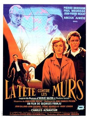 Tête contre les murs, La - French Movie Poster (thumbnail)