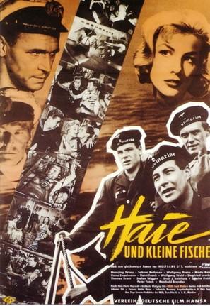 Haie und kleine Fische - German Movie Poster (thumbnail)