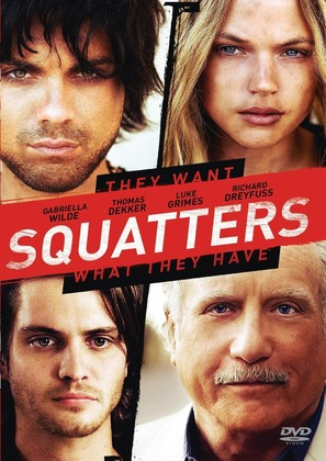 Squatters - DVD movie cover (thumbnail)