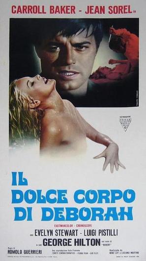 Il dolce corpo di Deborah - Italian Movie Poster (thumbnail)