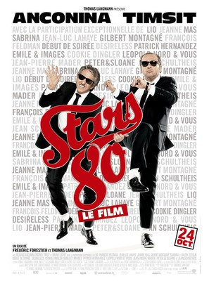 Stars 80 - French Movie Poster (thumbnail)