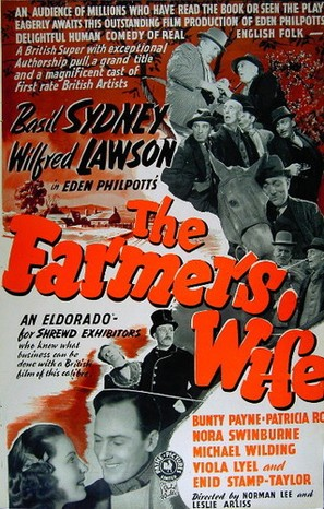 The Farmer's Wife - British Movie Poster (thumbnail)
