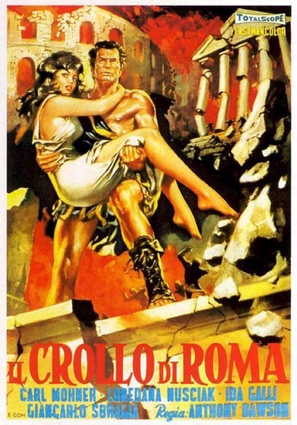 Crollo di Roma, Il - Italian Movie Poster (thumbnail)