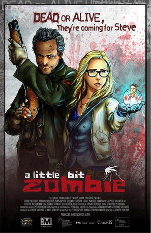 A Little Bit Zombie - Canadian Movie Poster (thumbnail)