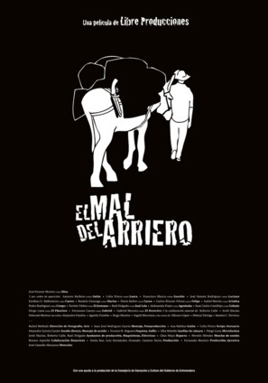 El mal del arriero - Spanish Movie Poster (thumbnail)