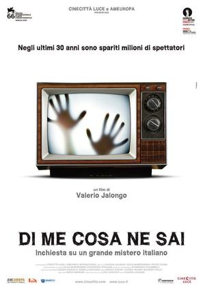 Di me cosa ne sai - Italian Movie Poster (thumbnail)