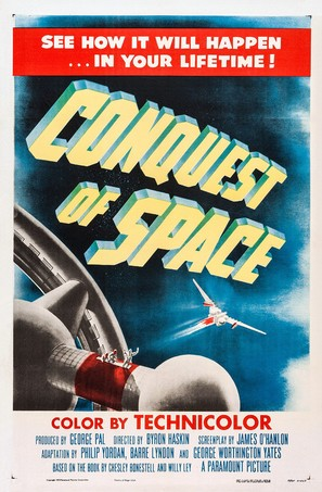 Conquest of Space - Movie Poster (thumbnail)